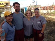 4 members of Stanford's SEMPER team
