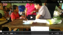 Video: Stanford's SEMPER Philippines Team